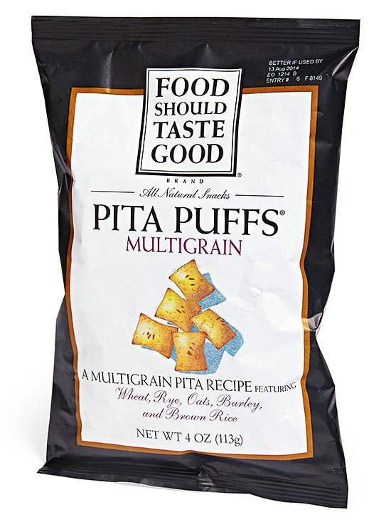 Food Should Taste Good Multigrain Pita Puffs
