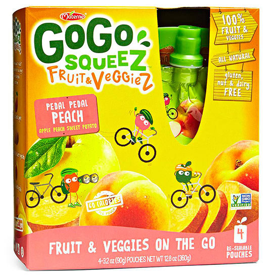 GoGo Squeez Fruit & Veggies