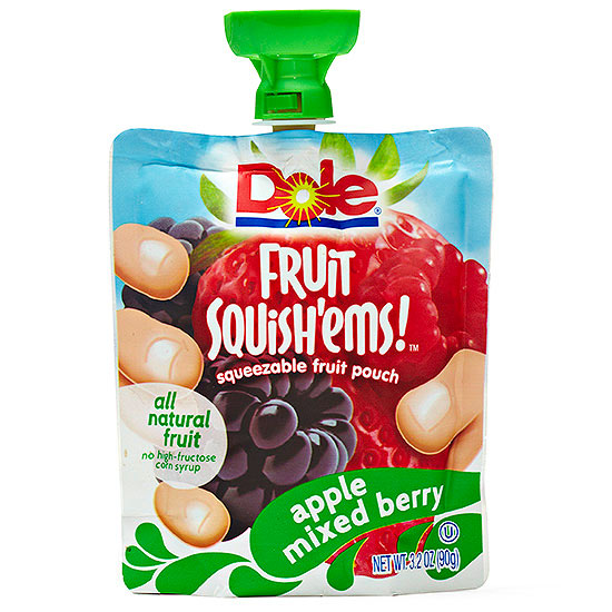 Dole Fruit Squish'ems!