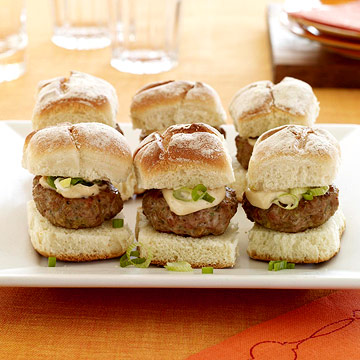 Ginger Teriyaki Sliders