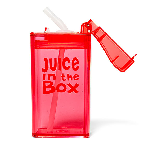 Reusable juice box