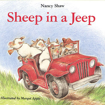 Sheep in the Jeep