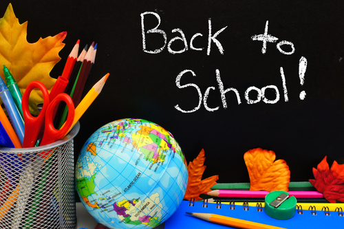 Back to School First Day of School