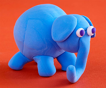 Model Magic Elephant