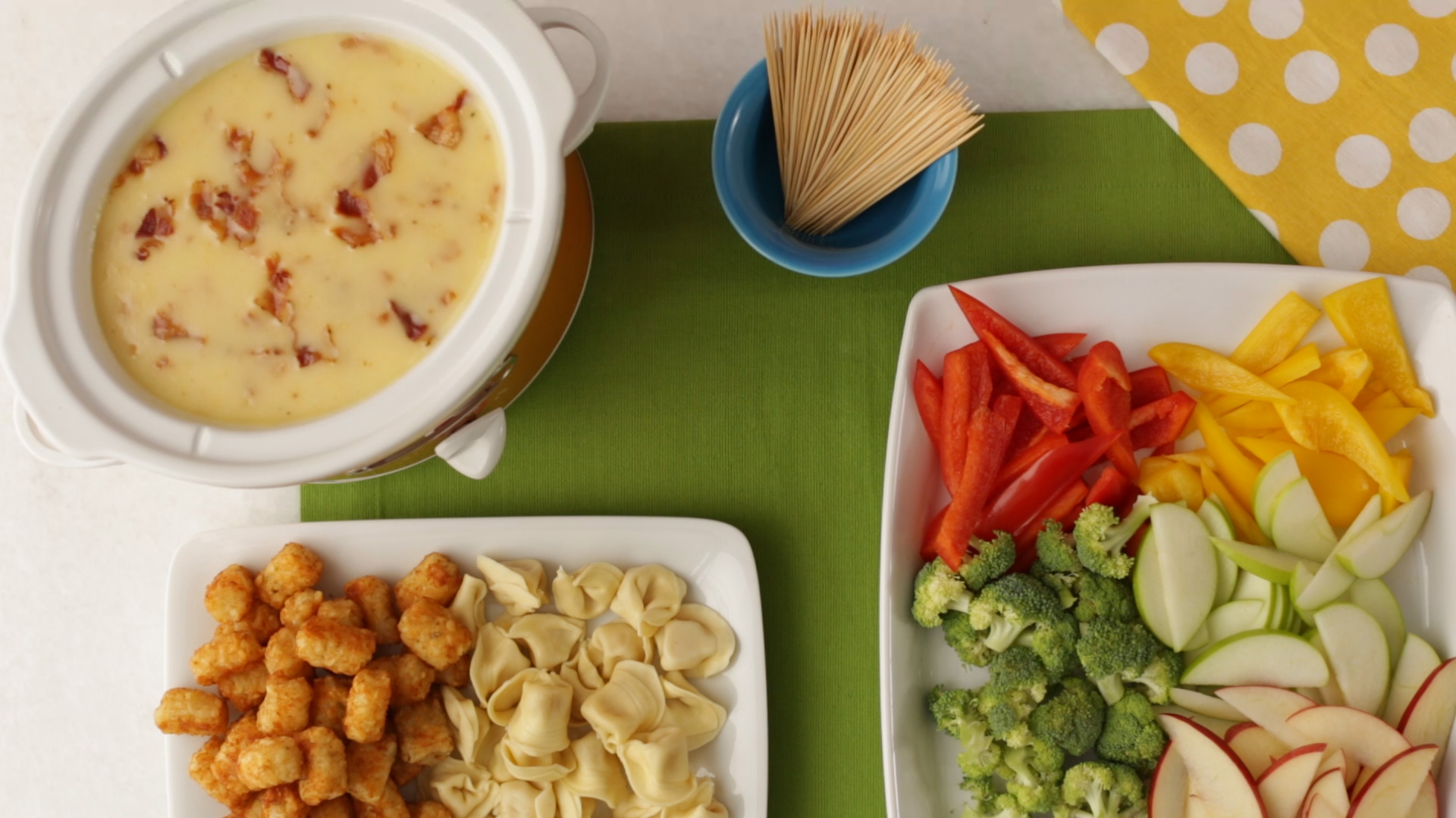 Bacon Cheese Fondue_still