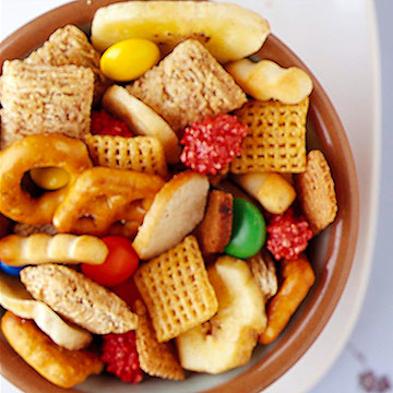Sweet-and-Salty Party Mix