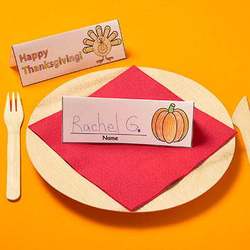 Thanksgiving Place Cards