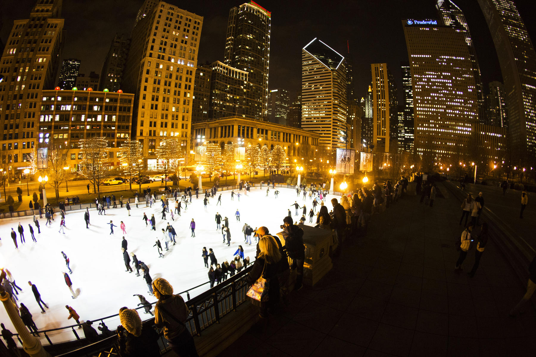 Chicago Ice Skating Rink