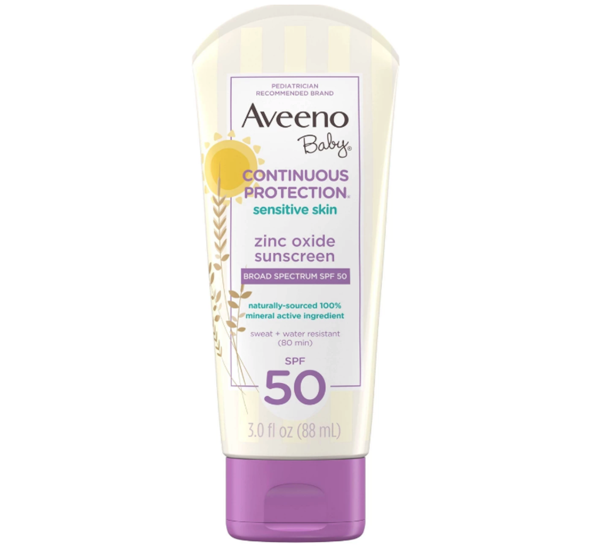 Aveeno Baby Continuous Protection Sensitive Skin Lotion