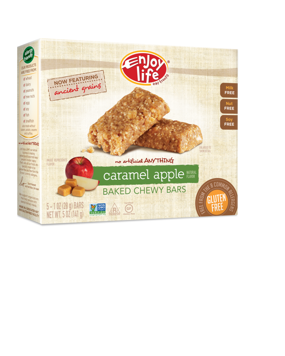 Enjoy Life Caramel Apple Bars
