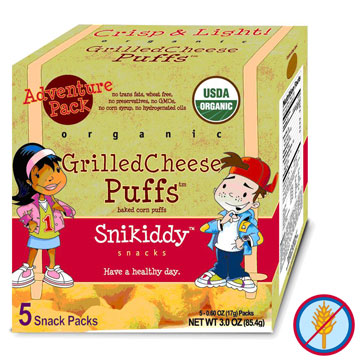 Snikidy Snacks Grilled Cheese Puffs