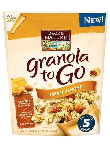 Best New Snacks for School: Back to Nature Granola to Go