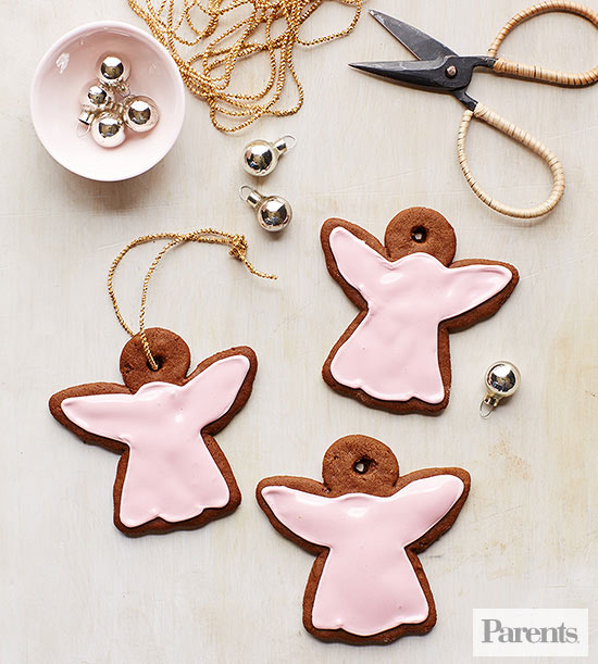 Spicy Ginger Ornaments
