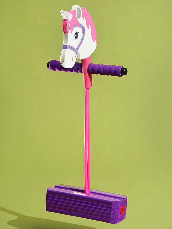 Winner: Hop & Squeak Unicorn Pogo Jumper
