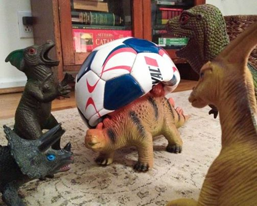 Here's How Two Parents Created #Dinovember...to Prank Their Kids 25492