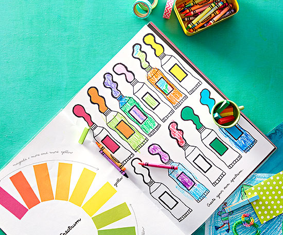 MoMA Color-Play Coloring Book