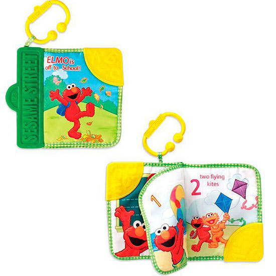 Elmo Teething Book