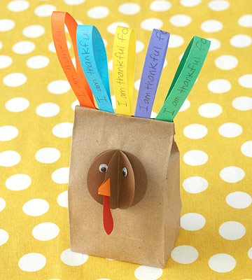 3-D Turkey Bag