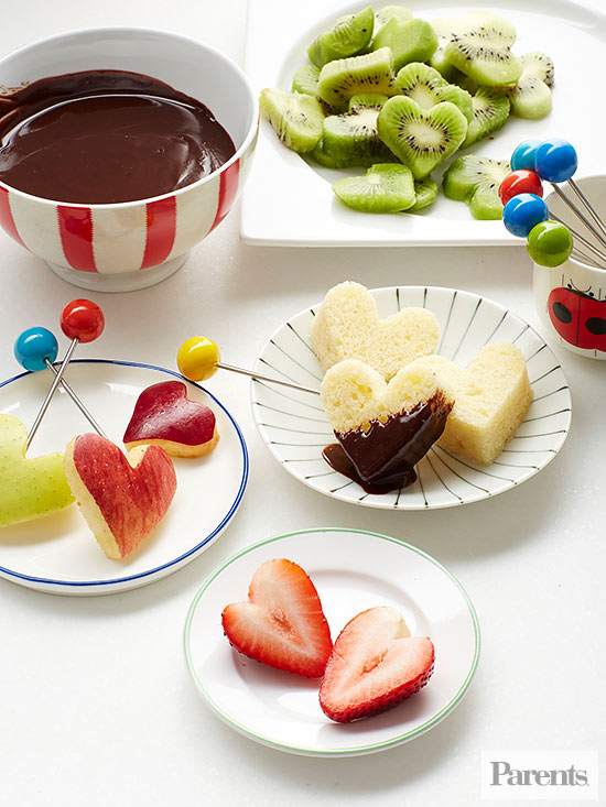 """Fond of You"" Chocolate Fondue"