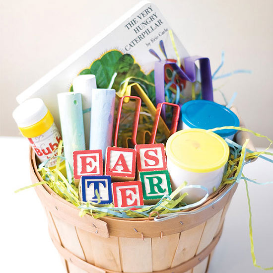 Alphabet Easter Basket