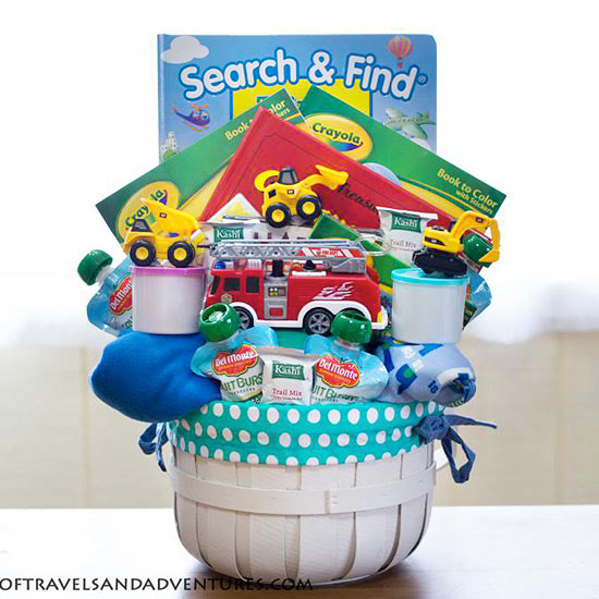 Transportation Easter Basket