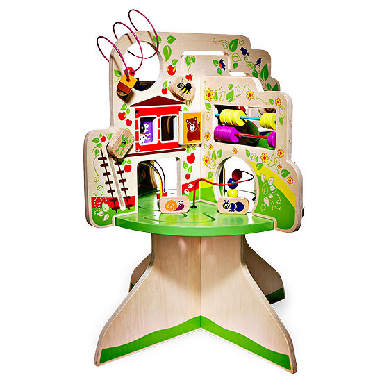 Treetop adventure wooden toy
