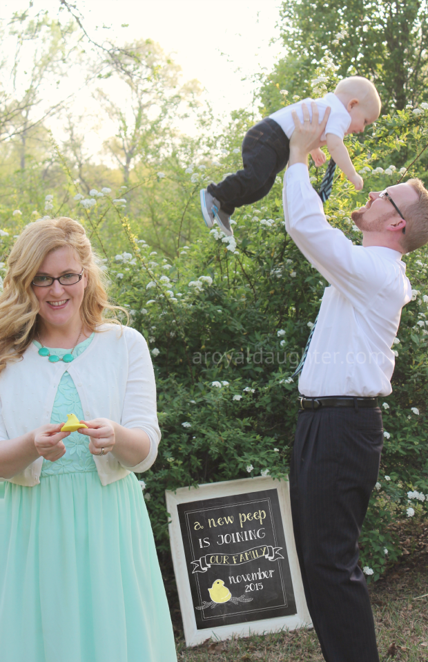 Our Favorite Easter Pregnancy Announcements | Parents