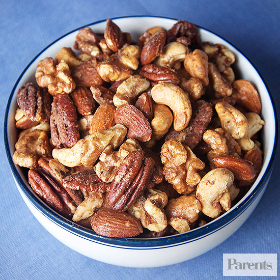 Spicy Sweet Nuts