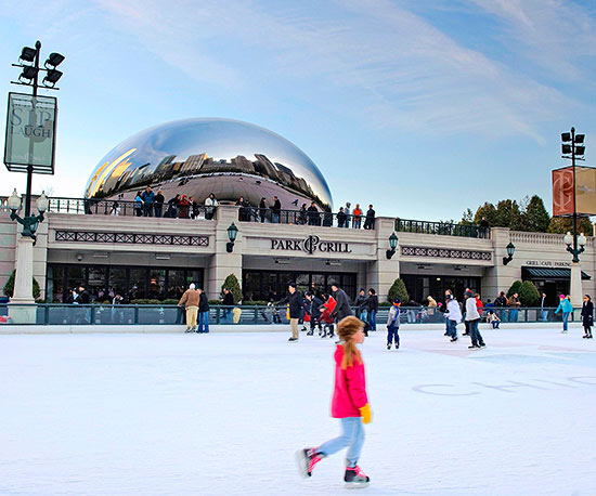 McCormick Tribune Ice Rink and The Depot Rink