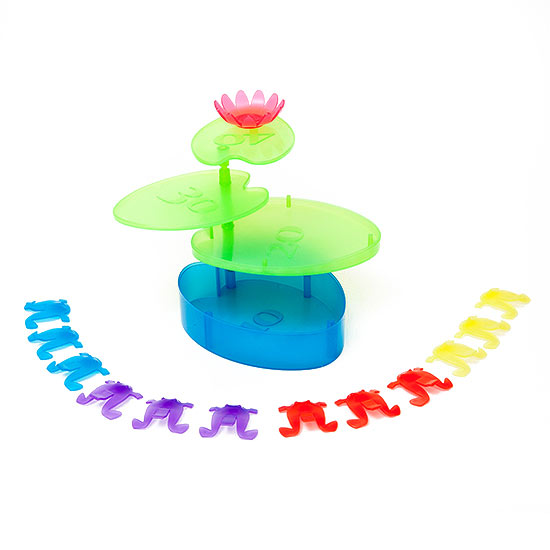 Plastic frogs around lilypad-1428428723980.xml