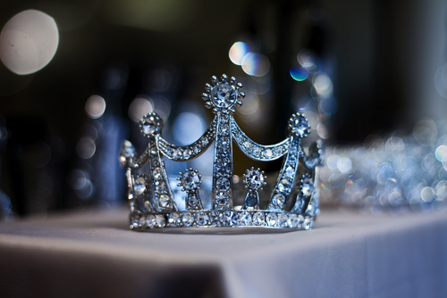 Photo of prom queen tiara