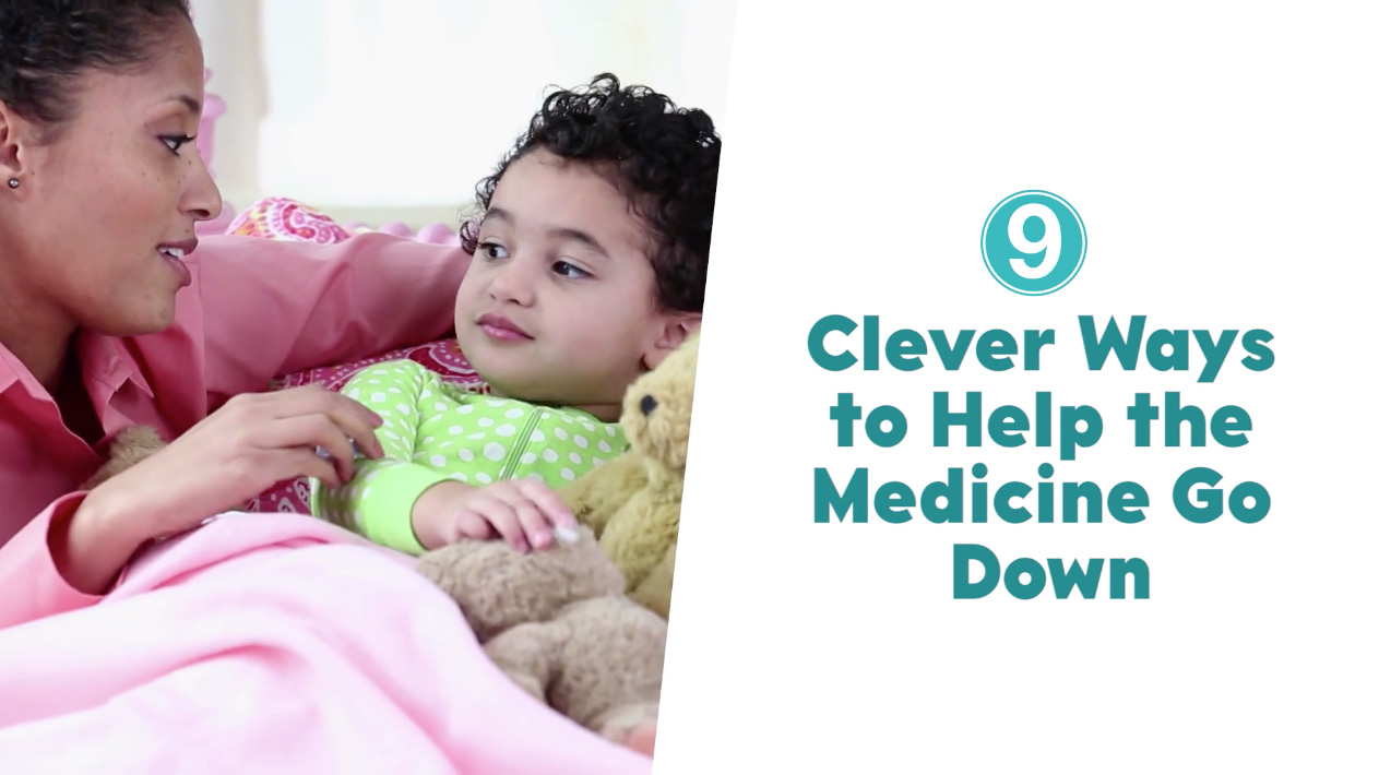 9 clever ways to help the medicine go down