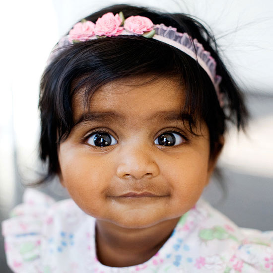 Child with beautiful eyes