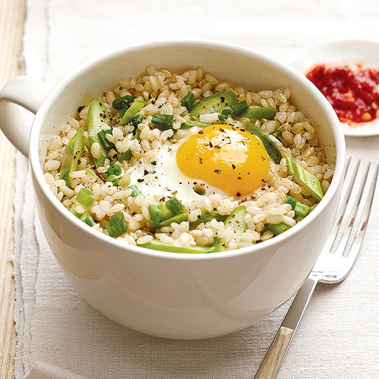 Spring Fried Rice with Asparagus