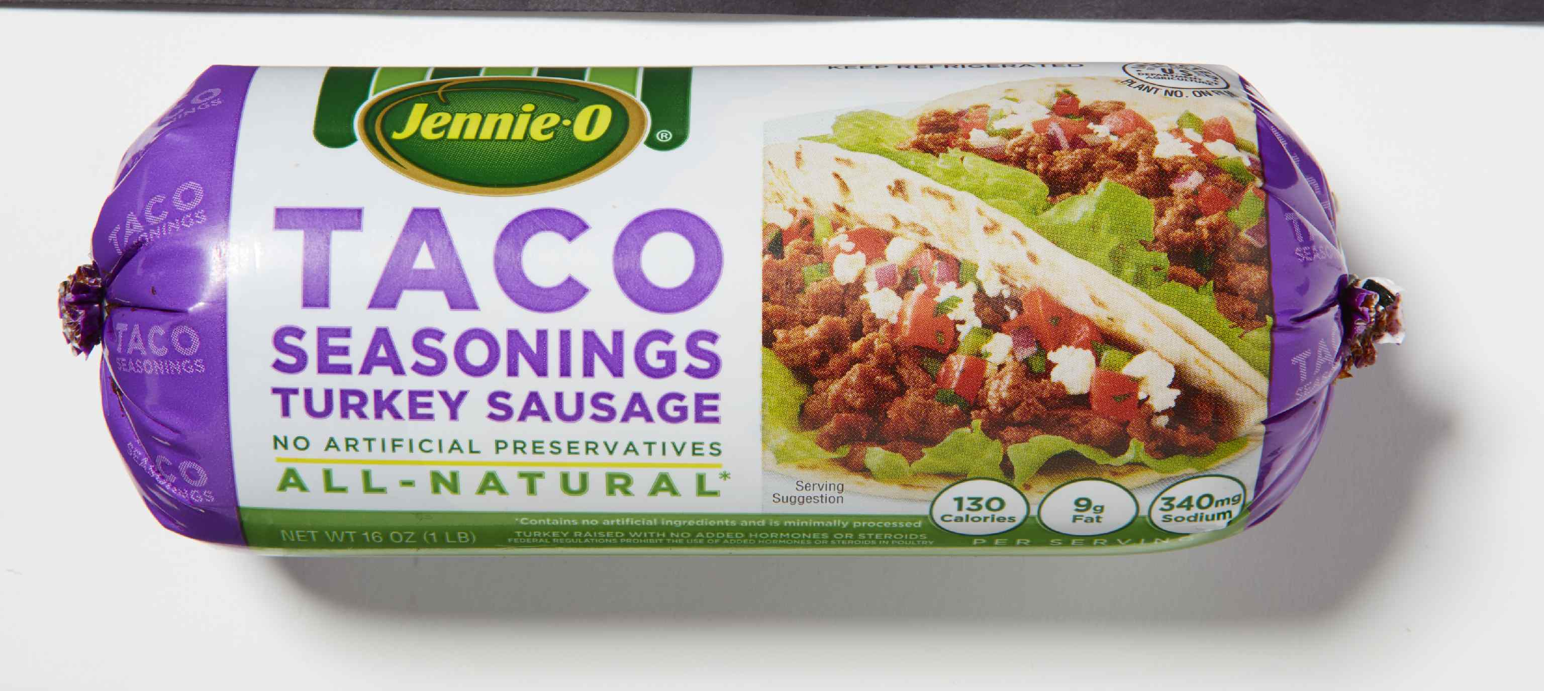 Jennie O Taco Seasonings Turkey Sausage