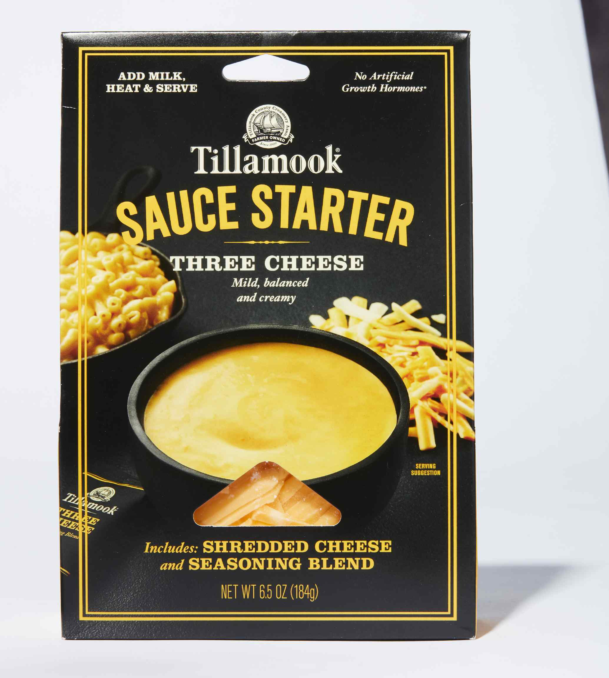 Tillamook Sauce Starter Three Cheese