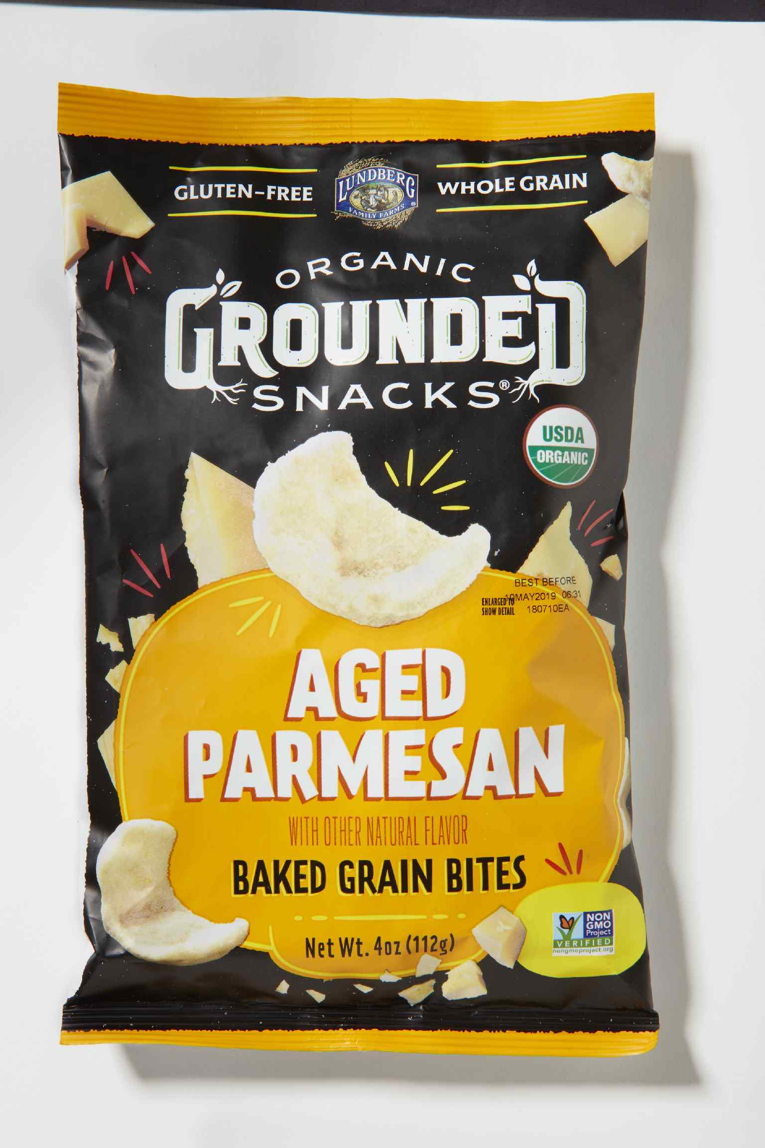 Lundberg Organic Grounded Snacks Baked Grain Bites