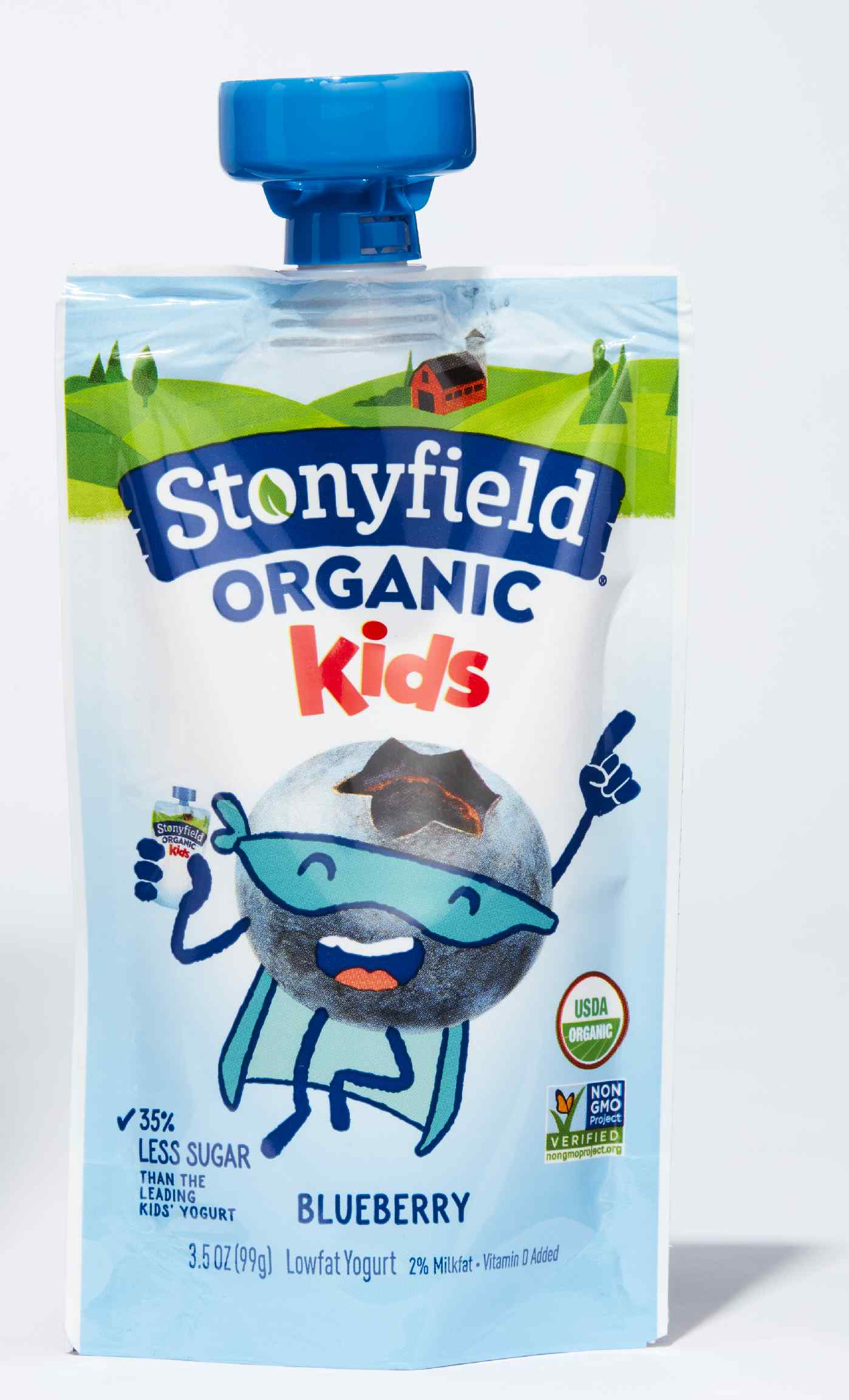 Stonyfield Organic Whole Milk Yogurt Pouch