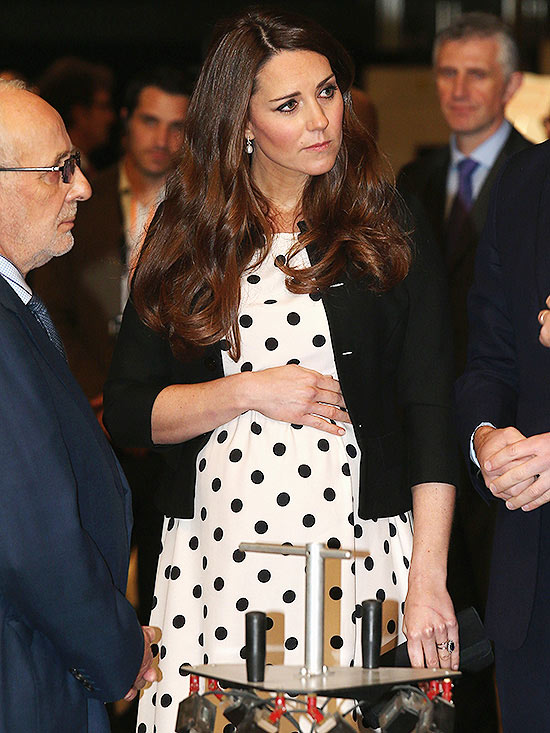 Pregnant Catherine, Duchess of Cambridge