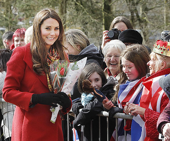Kate Middleton in Scottland