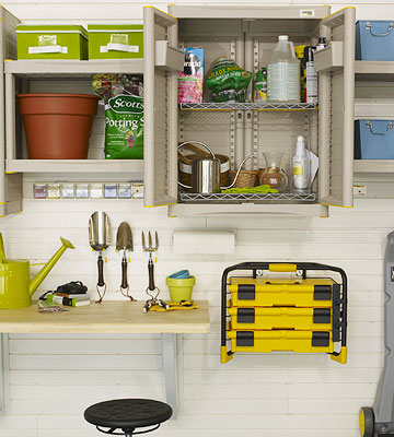 Gardening Supplies and Toolbox
