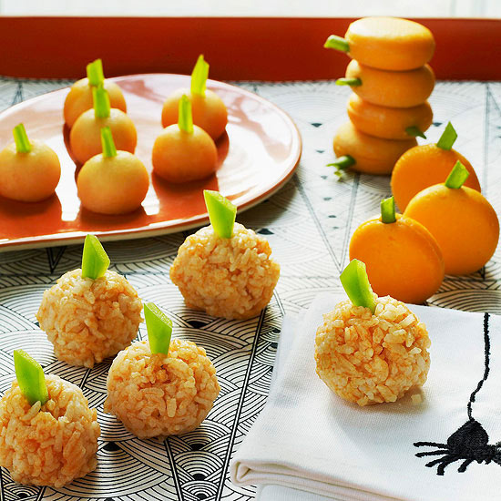 Simple Snack-o-Lanterns