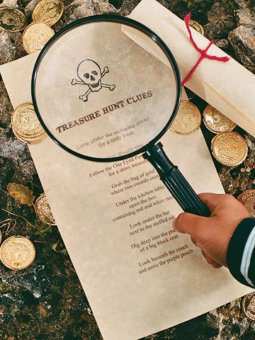 Treasure Hunt Clues