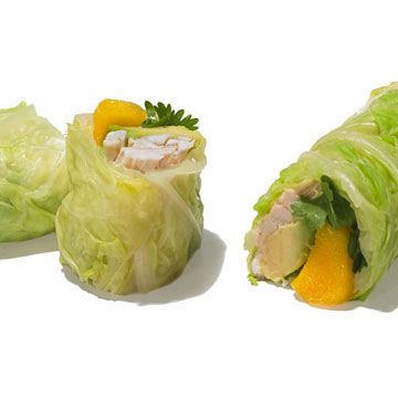 Tropical Turkey Spring Rolls