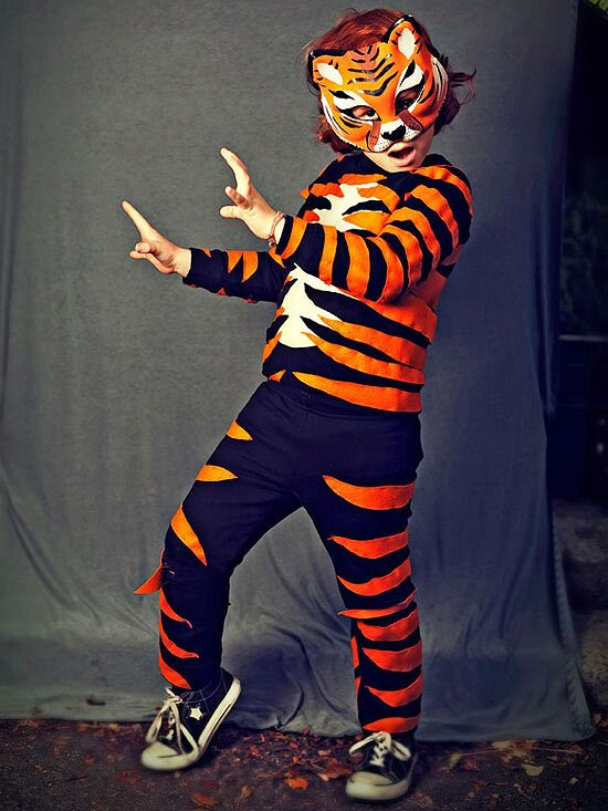 Fiery Tiger Costume Parents