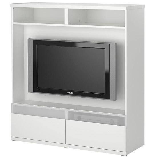 Media Centers: Wall-Saving Storage