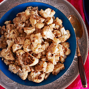 Roasted Chickpeas & Cauliflower