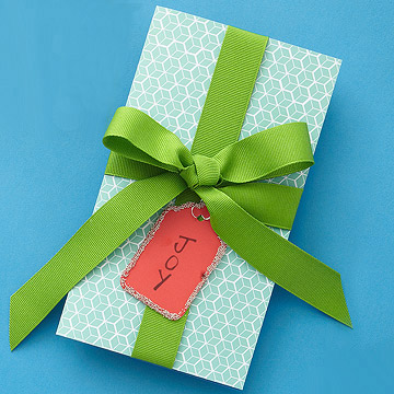 Gift Wrapped Card