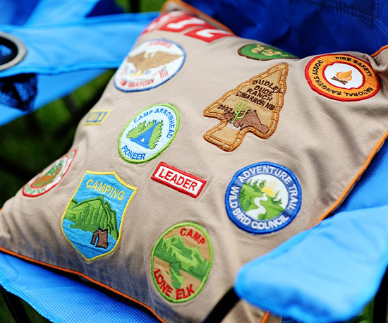 Camping Pillow Craft