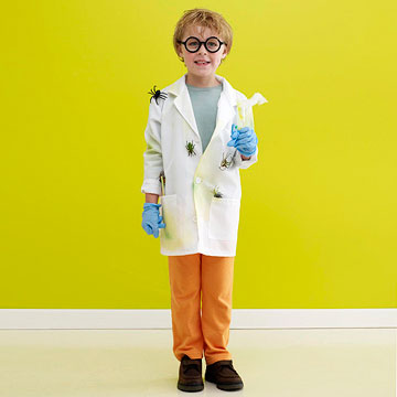 Mad scientist Halloween costume
